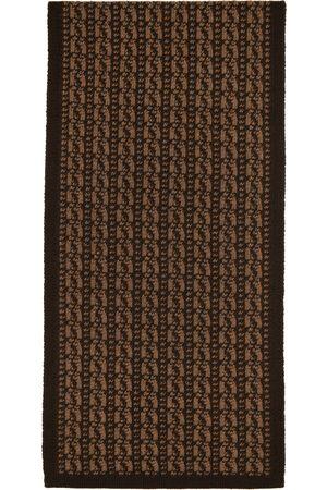 Fendi Brown Wool 'Forever ' Scarf