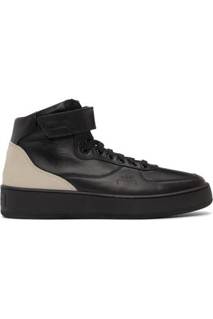 A-cold-wall* Leather Rhombus Hi-Top Sneakers