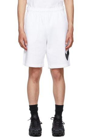 Nike White Sportswear Club Shorts
