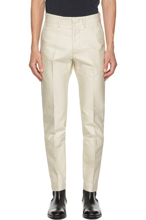Tom Ford Off-White Japanese Selvedge Military Chino Trousers