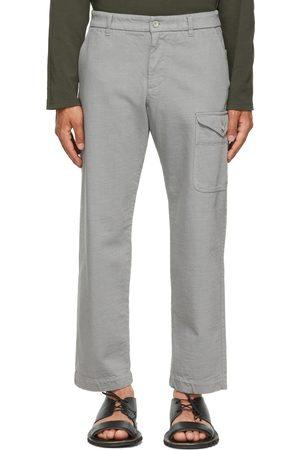 BARENA Grey Tepa Tober Cargo Pants