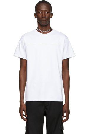 MUGLER White Interlock T-Shirt