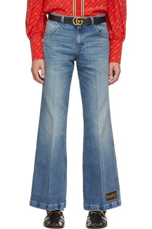 Gucci Blue Eco Stone Washed Jeans