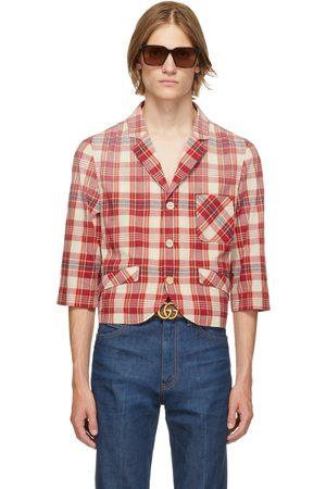 Gucci Red Tartan Jacket