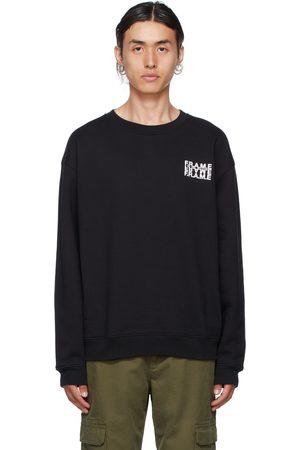 Frame Black Graphic Sweatshirt