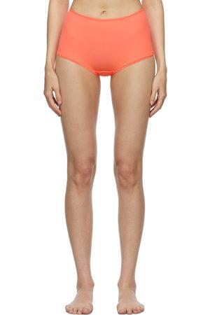 SKIMS Orange Fits Everybody Boy Shorts