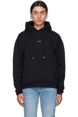 Frame Black Logo Hoodie
