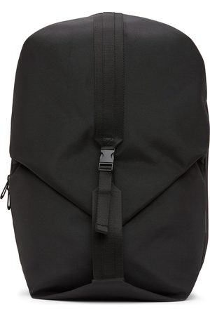 CÔTE&CIEL Black EcoYarn Oril L Backpack