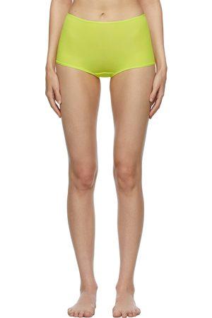 SKIMS Green Fits Everybody Boy Shorts