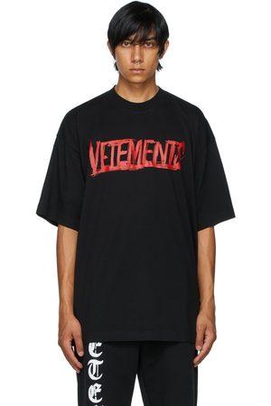 Vetements Black 'World Tour' T-Shirt