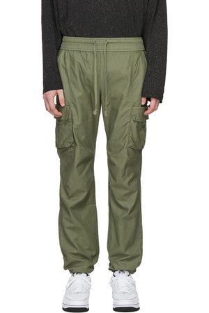 JOHN ELLIOTT Green Back Sateen Cargo Pants