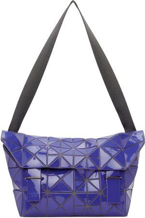 BAO BAO ISSEY MIYAKE Blue Lucent Pixel Messenger Bag