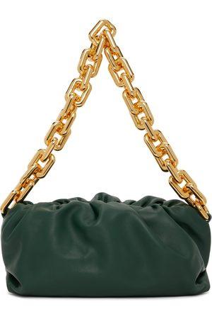Bottega Veneta Green Chain Pouch Clutch