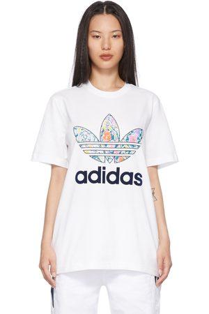 Noah NYC White adidas Originals Edition Floral T-Shirt
