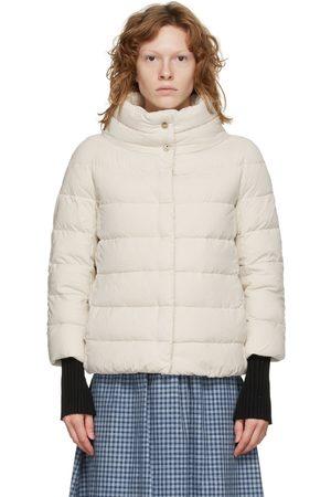 HERNO White Down Microfiber Jacket
