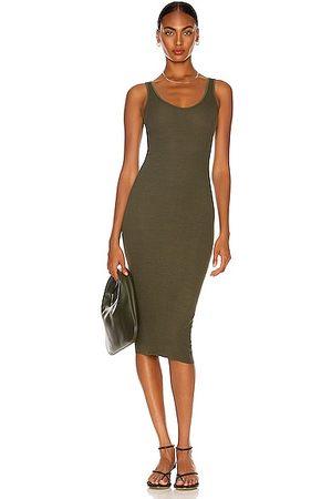 ENZA COSTA For FWRD Silk Rib Tank Dress in