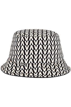 VALENTINO GARAVANI Women Hats - VLogo Signature Reversible Bucket Hat in ,White