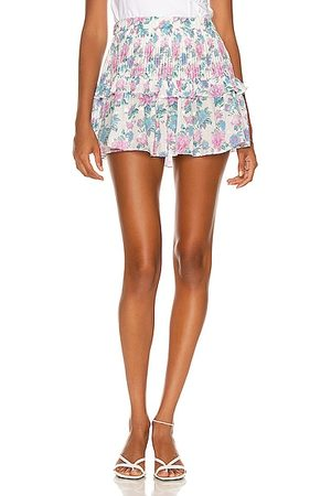 LOVESHACKFANCY Ignacia Skirt in Pink