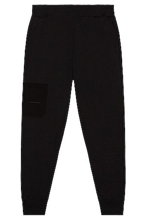 A-cold-wall* Logo Embroidery Sweatpant in Red
