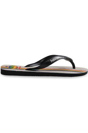 Havaianas Men's Top Pride Flip Flops - Grey - Size 11