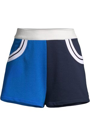 Solid and Striped Women's The Sophie Colorblock Shorts - Midnight - Size Large