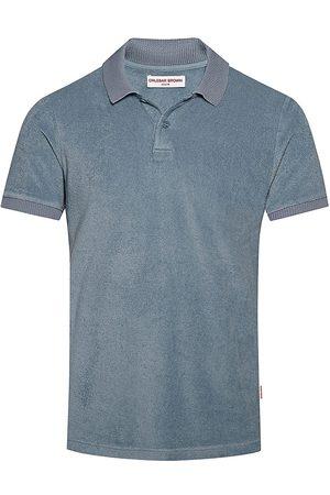 Orlebar Brown Men's Jarrett Cotton Polo - Capri Almond - Size Small