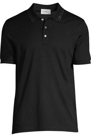 Salvatore Ferragamo Men's Basic Cotton Polo - - Size XS