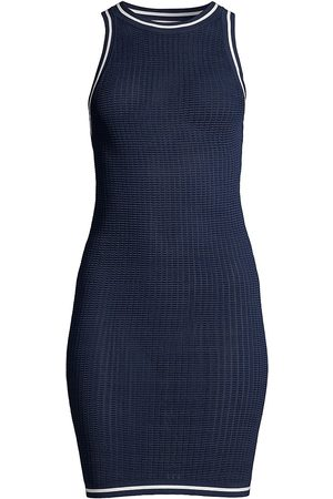 Solid and Striped Women's The Carson Tech Mesh Dress - Midnight - Size Large