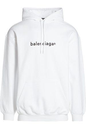 Balenciaga Men's Logo Hoodie - - Size XL