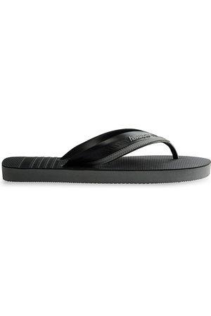 Havaianas Men's Hybrid City Flip Flops - Steel Grey - Size 9