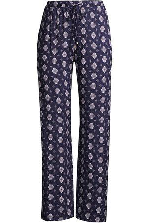 Hanro Women's Sleep & Lounge Woven Pants - Ornamental - Size Small