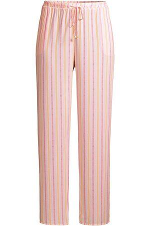 Hanro Women's Sleep & Lounge Striped Pajama Bottoms - Jolly Stripe - Size Small