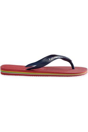 Havaianas Men Flip Flops - Men's Brazil Logo Flip Flops - - Size 9