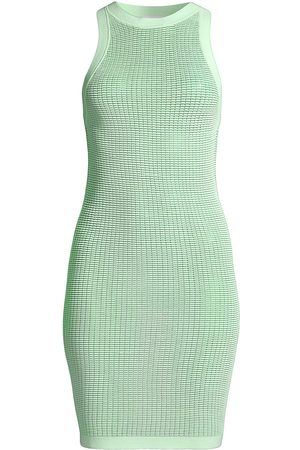 Solid and Striped Women's The Carson Tech Mesh Dress - Pistachio - Size XS