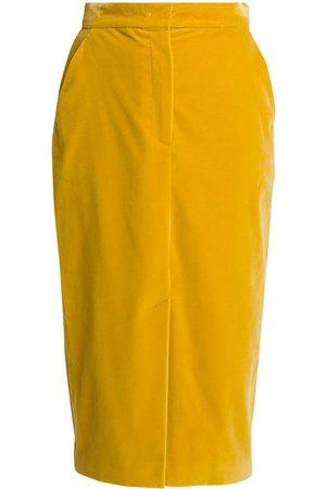 Max Mara Women's Bormida Velvet Pencil Skirt - - Size 8