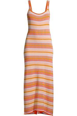 Solid and Striped Women Midi Dresses - Women's The Kimberly Striped Midi Dress - Size XS