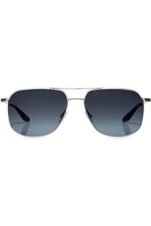 Barton Perreira Men's Javelin 56MM Aviator Sunglasses - Steel
