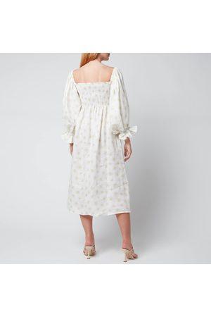 Sleeper Women Midi Dresses - Women's Atlanta Linen Dress