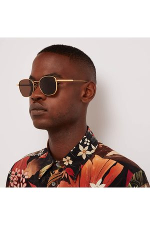 Bottega Veneta Square - Soft Square Frame Sunglasses