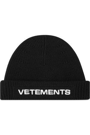 Vetements Men Beanies - Logo Beanie
