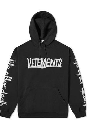 Vetements World Tour Oversized Logo Hoody