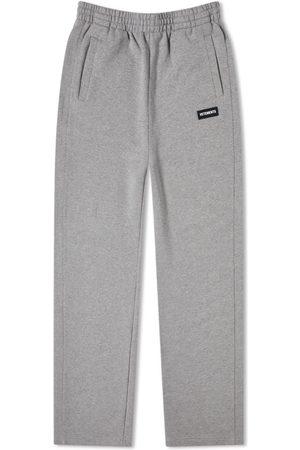 Vetements Men Straight Leg Pants - Logo Straight Leg Sweat Pant
