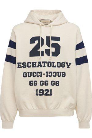 Gucci Men Hoodies - 25 Eschatology Cotton Hoodie