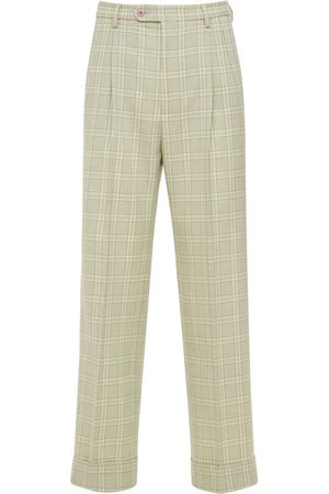 Gucci Tartan Check Wool Pants