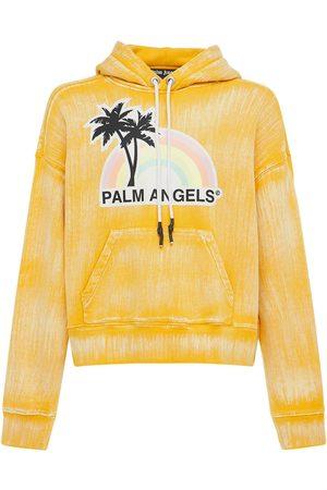 Palm Angels Lvr Exclusive Glow Rainbow Jersey Hoodie