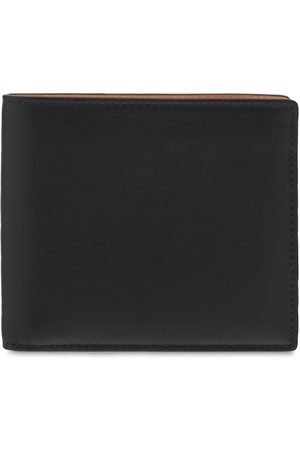 Maison Margiela Men Wallets - Logo Leather Billfold Wallet