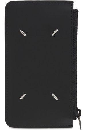 Maison Margiela Men Wallets - Leather Wallet W/zip Pocket