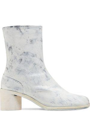 Maison Margiela 60mm Tabi Bianchetto Leather Boots