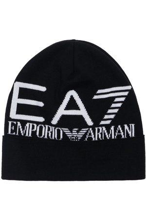 EA7 Jacquard Logo Beanie