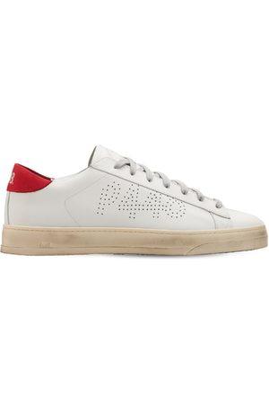 P448 Men Sneakers - Jack Leather & Suede Low Top Sneakers